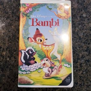 DISNEY 💥COLLECTORS💥CLASSIC BAMBI BLACK DIAMOND